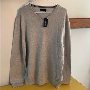 NEW Nautical gray sweater